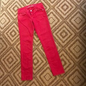 Pink Skinny Jeans by INC